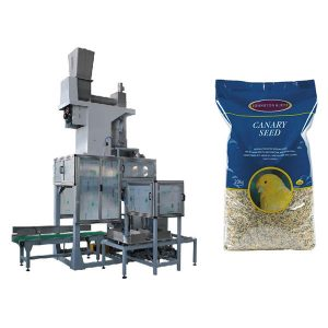 20kg Seed Hapur Gojës Bagging & Bag Plotesimi Peshore Automatik Grain Big çanta Paketimi Machine