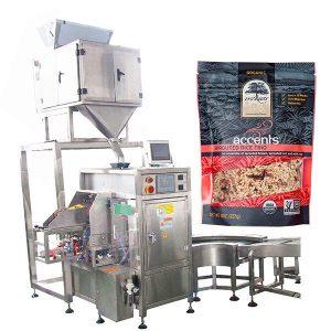 Makinë automatike për mbushje dhe nënshkrimin për pluhur kafe
