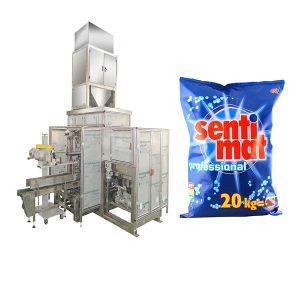 Automatic Premade Big Bag Paketimi Machine Detergjent pluhur Gojës me gojë të hapur