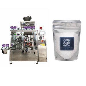 Makinë automatike të paketimit të rrotës Premade për kripë