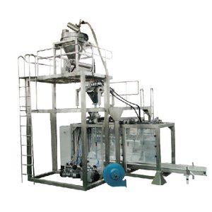 Big Bag automatike pluhur Peshimin Machine mbushje Qumësht paketim pluhur makinë