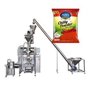 Paketimi VFFS Bagger me mbushëse Auger për Paprikën dhe Chilli Food pluhur