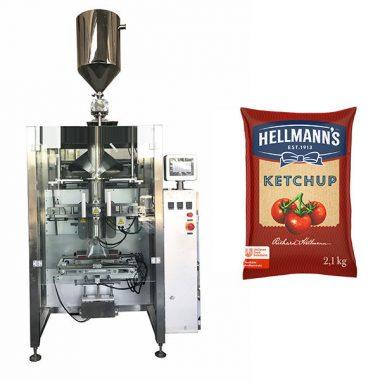 Makinë paketimi 500g-2kg ketchup salcë